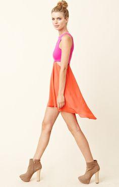 Donna Mizani Diamond Flounce Dress