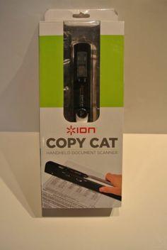 Ion Copy Cat Handheld Document Scanner USB Mac/PC Portable Travel Mobile NICE