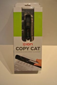 Ion Copy Cat Handheld Document Scanner USB Mac/PC Portable Travel Mobile NICE
