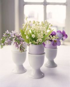 Easter Centerpieces: