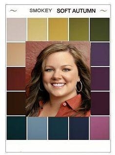 """smokey soft autumn"" colors - Google Search"