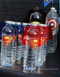 Superman water bottles