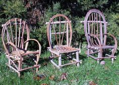 Plan How To Build Rustic Bent Willow Twig By Willowcreekrustics Furniture