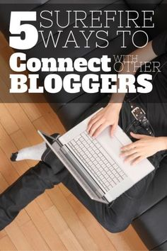 You NEED to connect with other bloggers for support, promotion, and just to have someone you know at blogging conferences! Connecting with other bloggers is essential to  blogging success - You can implement Pinterest Marketing in every aspect of blogging, but without networking with other bloggers, you can only go so far!