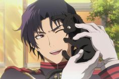 This is the fucking cutest picture of guren I've eVER SEEN MY HEART DAMN IT