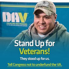 We need your help right away to stop Congress from cutting the funding request for veterans!  House Republicans and House Democrats are set to vote (Bill H.R. 2029) THIS WEEK on an unconscionable, outrageous reduction in the VA's budget request next year by over $1.4 billion, including $600 million in direct medical care for veterans. They need to hear from everyone right away.  Please show your support by taking a few minutes to fill out the form at the link in our profile and regram if you…