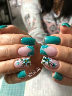 31 best nails ideas for spring 2019 00023 Burgundy Acrylic Nails, Cute Acrylic Nails, Acrylic Nail Designs, Cute Nails, Pretty Nails, Nail Art Designs, Beautiful Nail Designs, Beautiful Nail Art, Hair And Nails