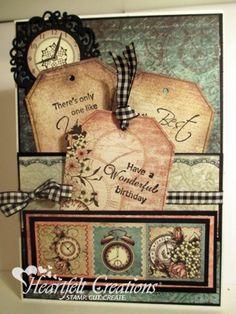 Heartfelt Creations | Birthday Pocket And Tags
