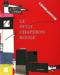 kveta pacovska Little Red Riding, Red Riding Hood, Grimm, Charles Perrault, Book Illustration, Fairy Tales, Books, Rouge Paris, Big Teeth