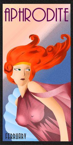 Art Deco Aphrodite