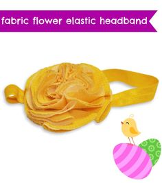 Perfect for an #Easter outfit :) Elastic headband project @Dritz Sewing