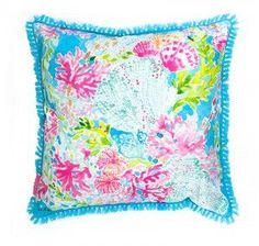 Lilly Pulitzer indoor/outdoor pillow