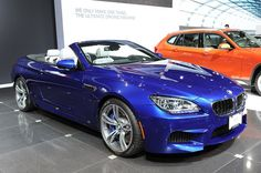 BMW 2012 M6 Convertible (not my cup of tea)