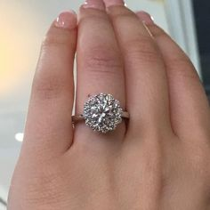 Tacori Full Bloom Halo engagement ring