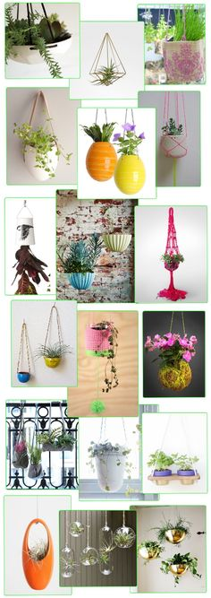 Hanging planters are a fantastic way to bring a little greenery into homes, particularly if floor space is in short supply. It seems obvious but funnily enough