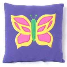 """Bella Butterfly Secret Pocket Pillow by Secret Pocket Pillow. $14.99. Hidden """"Tooth Fairy"""" pocket. Large secret pocket in back. Colorful, kid-friendly designs. Super plush material. The Secret Pocket Pillow combines a decorative pillow, stuffed animal and treasure box into one sensational toy where kids can store their favorite toy or hide their most treasured possessions. They'll always have their toys within reach and can take them to bed, around the house, or o..."""