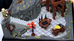 Detailed Lego versions of famous Princess Bride scenes