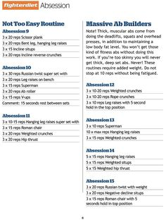 "Fighter Diet ""Absession"" 
