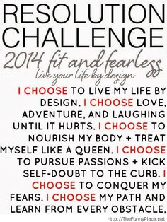2014  New Year new goals!