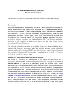 the-pceg-peesh-chopra-education-group by Peesh Chopra Campuseai via Slideshare