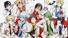 Wallpaper celebração do partido do Anime Servamp