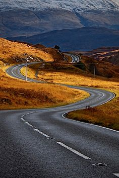 """utwo: """"go out and ride © huffingtonpost """" Beautiful Roads, Beautiful Landscapes, Beautiful Places, Places To Travel, Places To Visit, Road Routes, Winding Road, Back Road, Travel Light"""