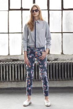 Citizens of Humanity Floral Thompson pants from anthro. want and need.