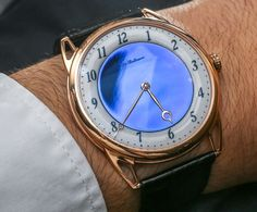 De Bethune DB25 Midnight Blue and White Night Watches Hands-On