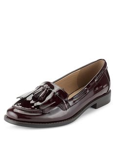 Fringe Trim Tassel Loafers with Insolia Flex® | M&S