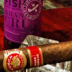 Punch Rare Corojo and a Flying Fish Grand Cru Winter Reserve