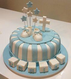 Daniels christening cake!