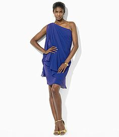 Lauren Ralph Lauren OneShoulder Dress #Dillards