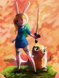 Fionna and Cake, Adventure Time