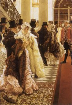 Painting: The Woman Of Fashion by James Tissot