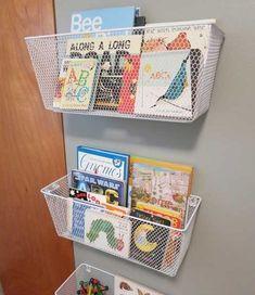 como organizar os livros dos seus filhos?