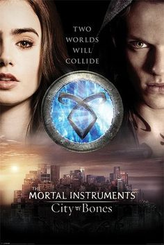 MORTAL INSTRUMENTS CITY OF BONES - two worlds posters | art prints