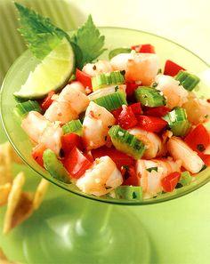 * ORMG *: No Words Wednesday: Shrimp Ceviche