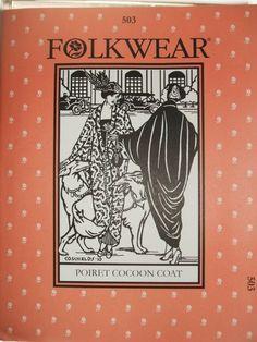 Folkwear 503, Paul Poiret Mantel
