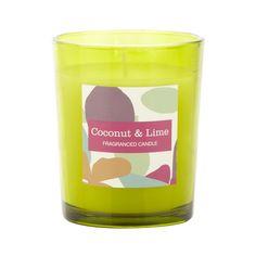 Debenhams Green coconut and lime scented votive candle- at Debenhams.com