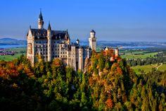 Neuschwanstein Castle. Germany