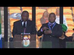 "Nelson Mandela sign language interpreter ""a complete fraud"