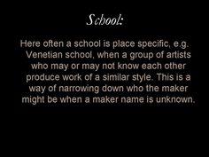 Glossary entry: 'School'