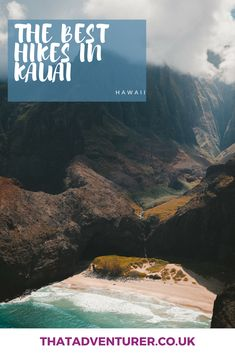 The best hikes in kauai. Head to Hawaii, USA and the island of Kauai in particular for some incredible hikes. This list includes bucket list hikes in Hawaii that are  half day, full day and even multi day for the adventurers among you! #travel #hawaii #bucketlist #kauai #hikes #hiking