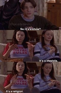 supernatural basically.  it's even more hilarious because baby Jared padalecki
