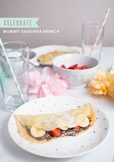 Celebrate : Mommy daughter brunch