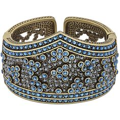 Heidi Daus Artful Antiquity Bracelet ($230) ❤ liked on Polyvore