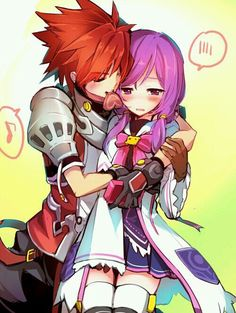 aisha, elsword, and lord knight image