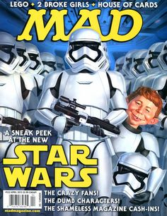 Cover for MAD (EC,1952 serie) #532 April 2015