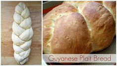 The Inner Gourmet: Recipe Testing: Guyanese Plait Bread