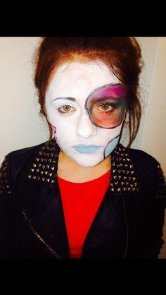 Revolting Rhymes Base Makeup - MUA Brandon Barns - Model @Frances Durham Sylvia Luck